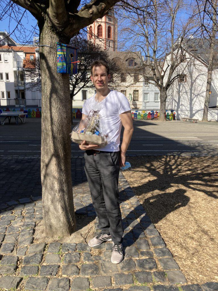 Pierre Langer hat an der Eisgrubschule für den Einbau von Lüftungsanlgen gesorgt